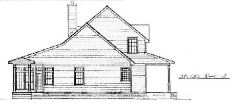 Cape Cod, Country House Plan 96532 with 3 Beds, 3 Baths, 2 Car Garage Picture 1