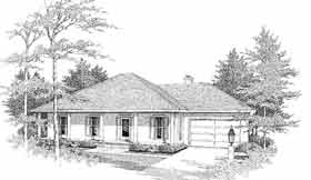 Traditional House Plan 96537 Elevation