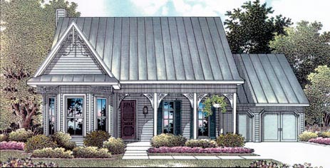 Traditional House Plan 96546 Elevation