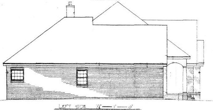 Traditional House Plan 96552 with 4 Beds, 4 Baths, 2 Car Garage Picture 1
