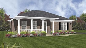 Traditional House Plan 96553 Elevation