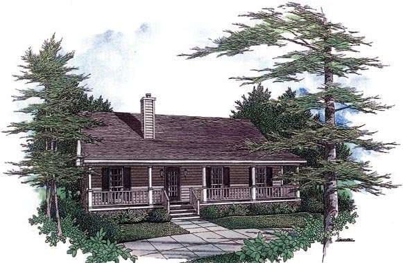 Cape Cod House Plan 96559 Elevation