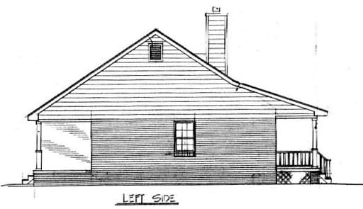 Cabin, Country, Ranch House Plan 96559 with 3 Beds, 2 Baths Picture 1
