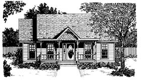 Craftsman Traditional House Plan 96562 Elevation