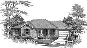 Traditional House Plan 96563 Elevation