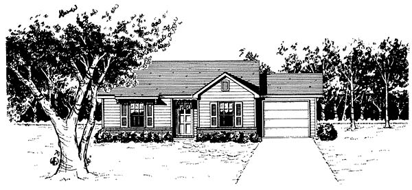 Traditional House Plan 96564 Elevation