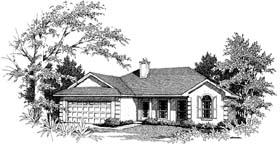 Florida Mediterranean House Plan 96573 Elevation