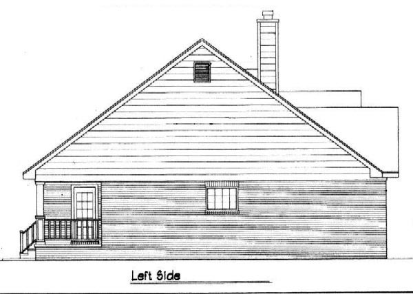 Country House Plan 96574 with 3 Beds, 2 Baths Picture 1