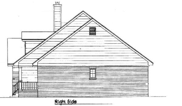 Country House Plan 96574 with 3 Beds, 2 Baths Picture 2