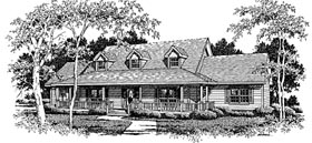 Country House Plan 96596 Elevation