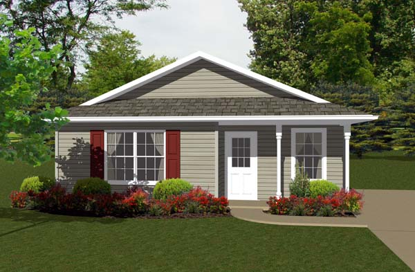 Traditional House Plan 96700 Elevation
