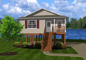 Plan Number 96701 - 736 Square Feet