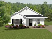 Plan Number 96702 - 856 Square Feet