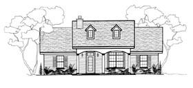 Plan Number 96714 - 1288 Square Feet