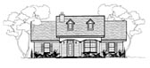 Plan Number 96714 - 1288 Square Feet