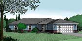 Plan Number 96807 - 1841 Square Feet