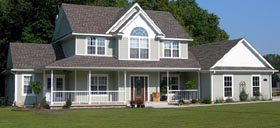 House Plan 96820 | Country Farmhouse Southern Style Plan with 2327 Sq Ft, 4 Bedrooms, 3 Bathrooms Elevation