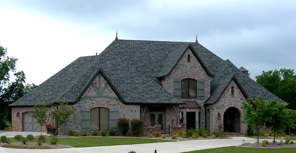 european french country tudor house plan 96885