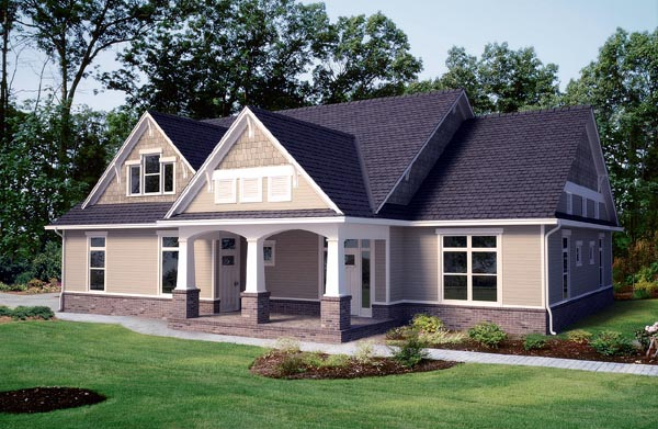 Craftsman House Plan 96887 Elevation