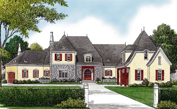 Mediterranean House Plan 96901 Elevation