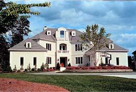 Mediterranean House Plan 96906 with 6 Beds, 6 Baths, 3 Car Garage Elevation