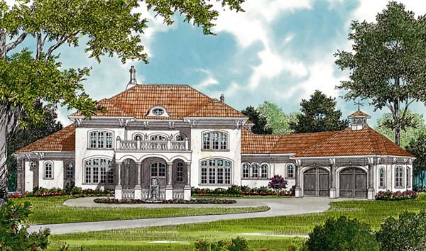 Mediterranean House Plan 96911 Elevation