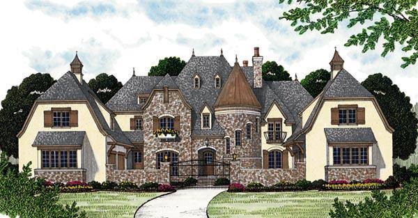 European House Plan 96914 Elevation