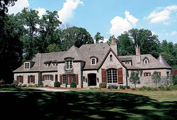 European House Plan 96915 Elevation