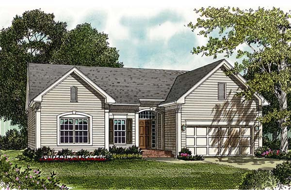 Traditional House Plan 96923 Elevation