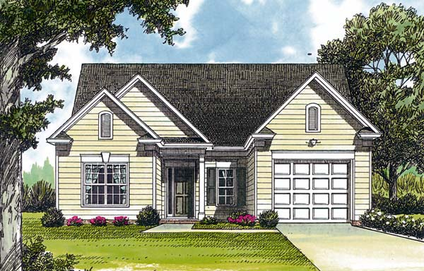 Traditional House Plan 96926 Elevation