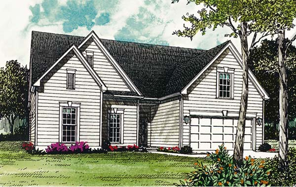 Traditional House Plan 96928 Elevation