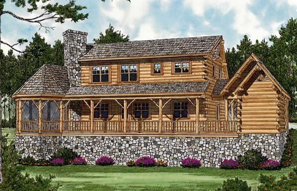 Cottage House Plan 96945 Rear Elevation