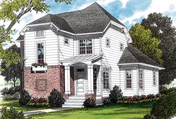 Bungalow Cottage Craftsman House Plan 96948 Elevation