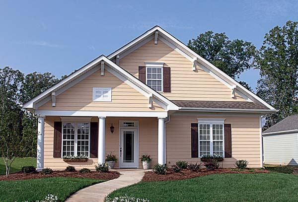 Bungalow Cottage Craftsman House Plan 96966 Elevation