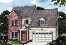 Colonial Traditional House Plan 96970 Elevation