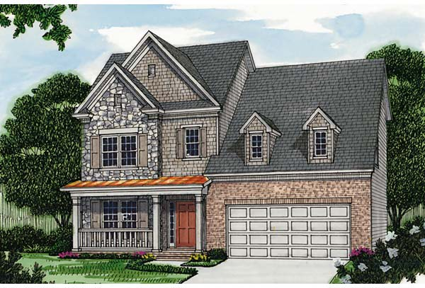 Colonial Traditional House Plan 96971 Elevation