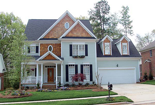 Colonial Traditional House Plan 96973 Elevation