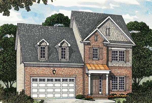 Colonial Traditional House Plan 96974 Elevation