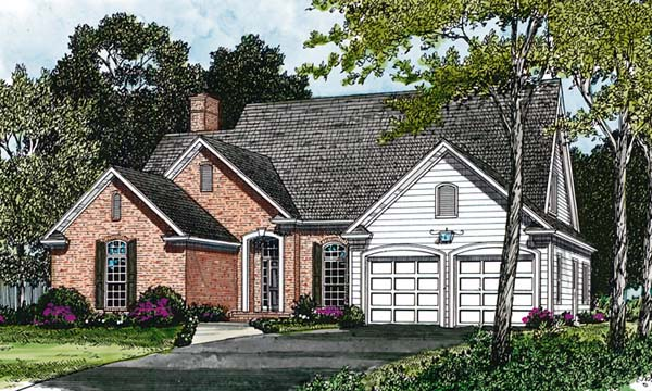 Traditional House Plan 96977 Elevation