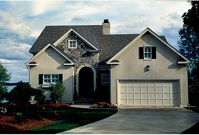 Traditional House Plan 96984 with 3 Beds, 3 Baths, 2 Car Garage Picture 3