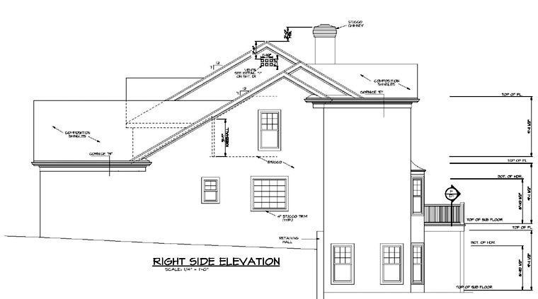 Traditional House Plan 96984 with 3 Beds, 3 Baths, 2 Car Garage Picture 1