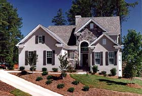 Traditional House Plan 96987 with 3 Beds, 3 Baths, 2 Car Garage Elevation