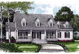 Farmhouse House Plan 96990 Elevation