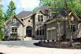 Cottage Craftsman Tudor House Plan 96994 Elevation
