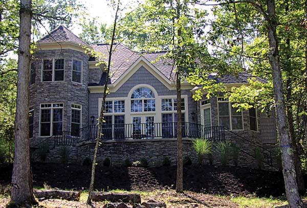 Cottage Craftsman Tudor House Plan 96994 Rear Elevation