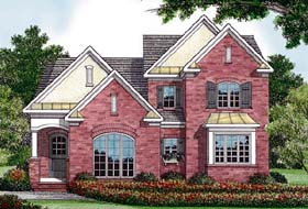 Traditional House Plan 96995 Elevation