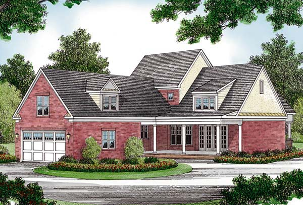 Traditional House Plan 96995 Rear Elevation