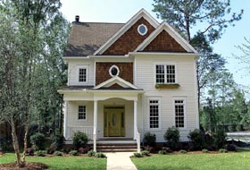 Farmhouse Traditional House Plan 96997 Elevation