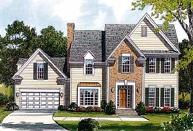 Traditional House Plan 96998 Elevation
