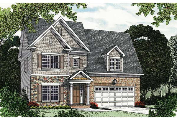 Traditional House Plan 96999 Elevation
